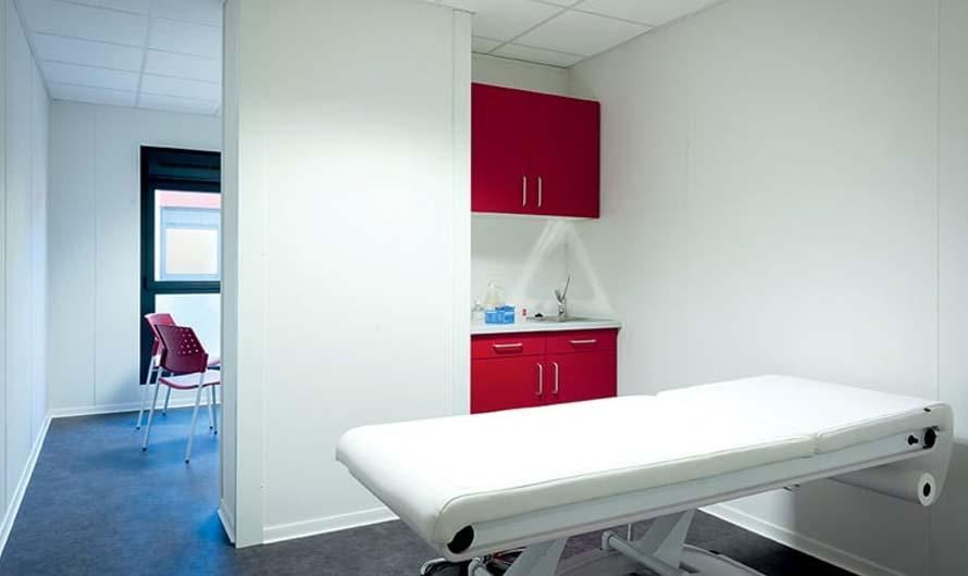 Maison médicale modulaire